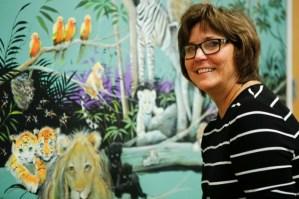 New mural sparks children's imaginations