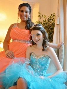 Lauren and Kaela