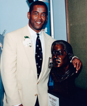 Tony Dorsett was inducted into the Football Hall of Fame in 1994.