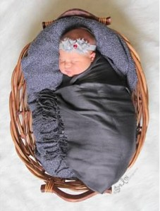 Newborn pictures- basket