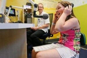 KidJam! Studio in hospital's expressive therapy center welcomes its first patient