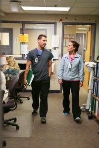 Adam Bonezzi and Rebecca Petit, RN