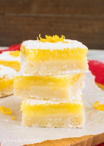 Best Lemon Bars - Inside BruCrew Life