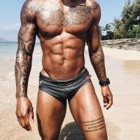 Kevin Carnell Is A Beach Bum