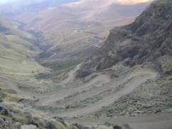 Sani Pass Switchback
