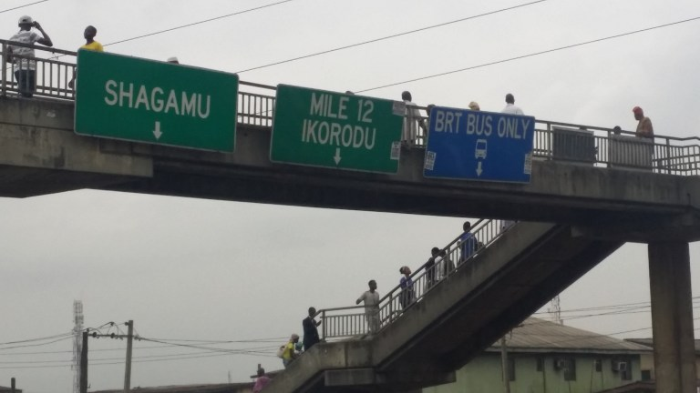 PHOTOS: Ketu pedestrian bridge is breaking apart