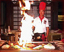 Kinkaku Japanese Steak House Chef