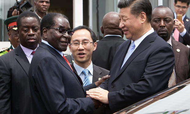 Mugabe and Xi-Jinping