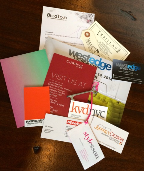 BlogTourNYC Handouts