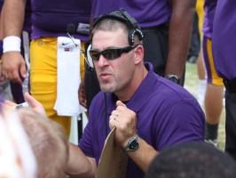 Hardin-Simmons head football coach Jesse Burleson