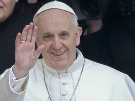 Pope Francis Wave