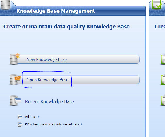 SQL Server 2012 Data Quality Services delete a Knowledge Base