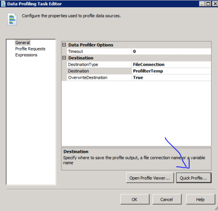 2 SSIS Data Profiling Task Data Cleaning Candidate Key