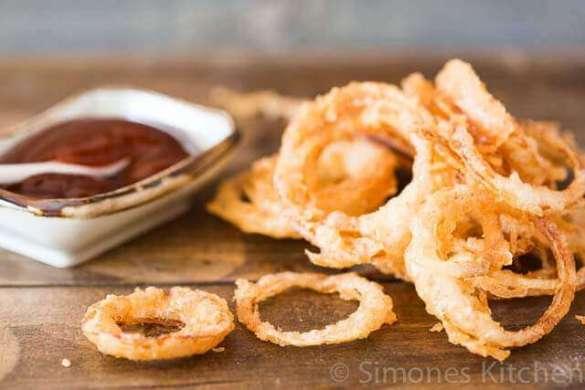 Fried onion rings | insimoneskitchen.com