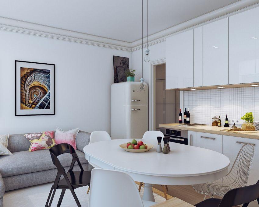 Como decorar una casa peque a de 25 metros cuadrados for Muebles para decorar departamentos pequenos