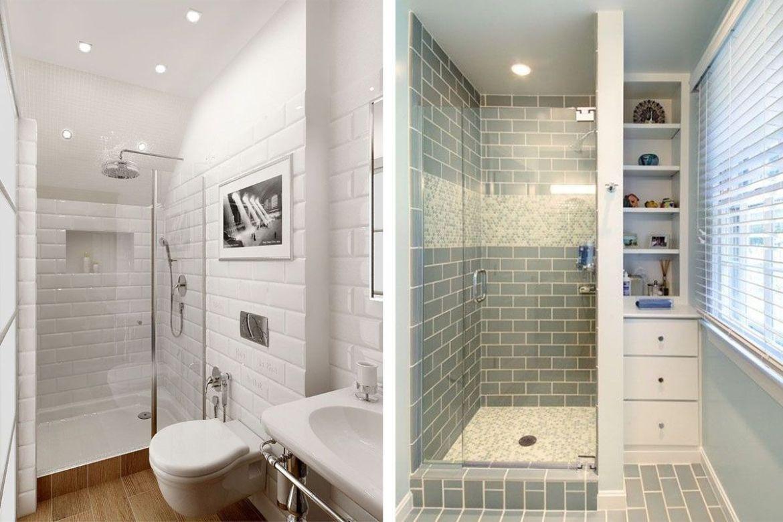 Baño En Dormitorio Pequeno:tips para baños pequeños para que parezcan más grandes y