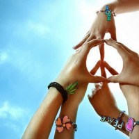 Holding Peace and Love In Our Hearts