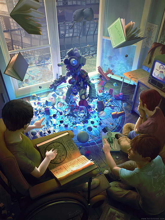 GOLEM toys and magic 55 Captivating Examples of Illustration Art