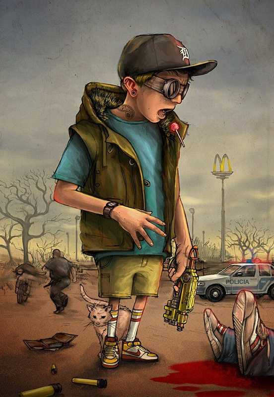 boy 55 Captivating Examples of Illustration Art