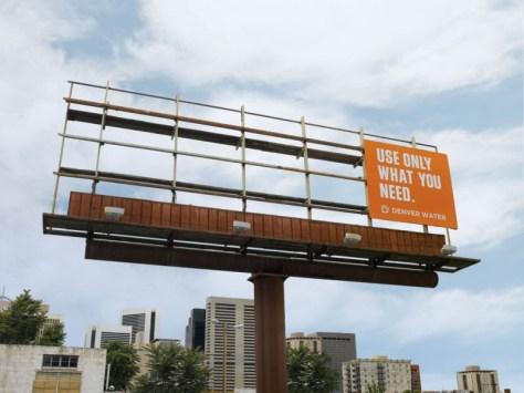 Denver Water Billboard