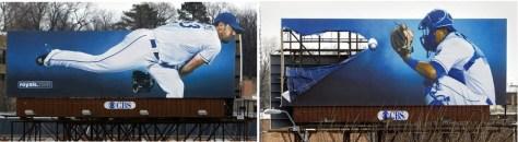 KC Royals billboards