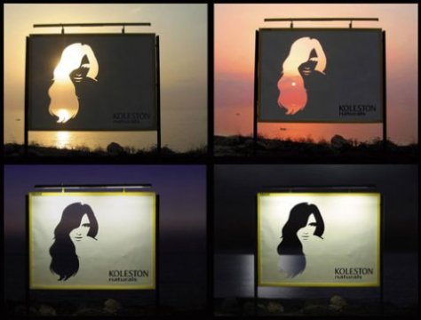 Koleston Hair Billboard