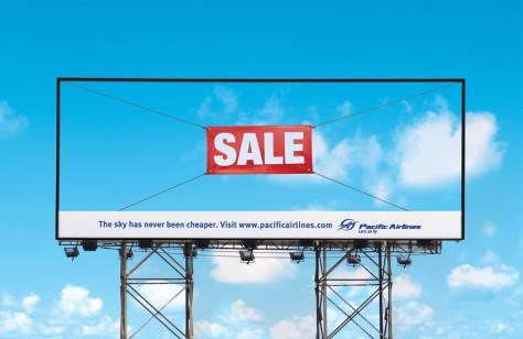 Pacific Airlines Billboard