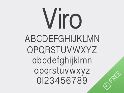 viro by medialoot 50 Free Fonts Youll be Tempted to Download
