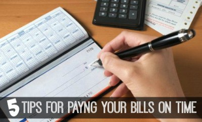 5 Tips for Paying Your Bills On Time - Inspiration For Moms