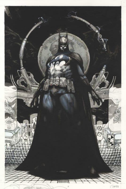 batman COMM DEF