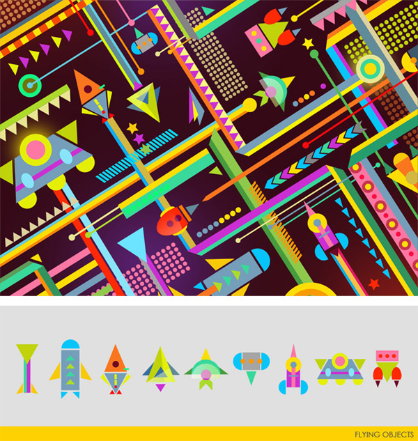 colorful illustrations