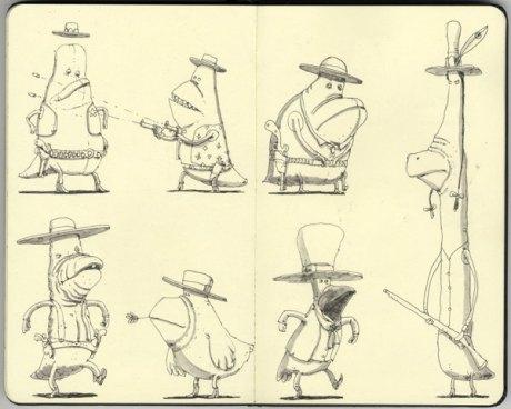 Moleskine Sketch 11