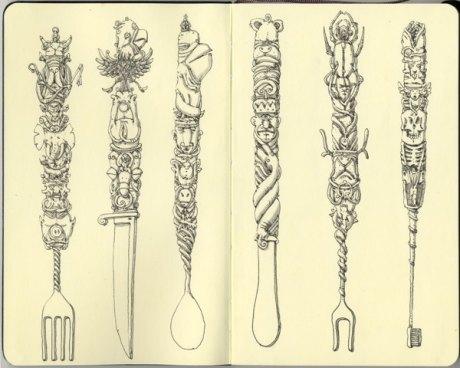 Moleskine Sketch 28