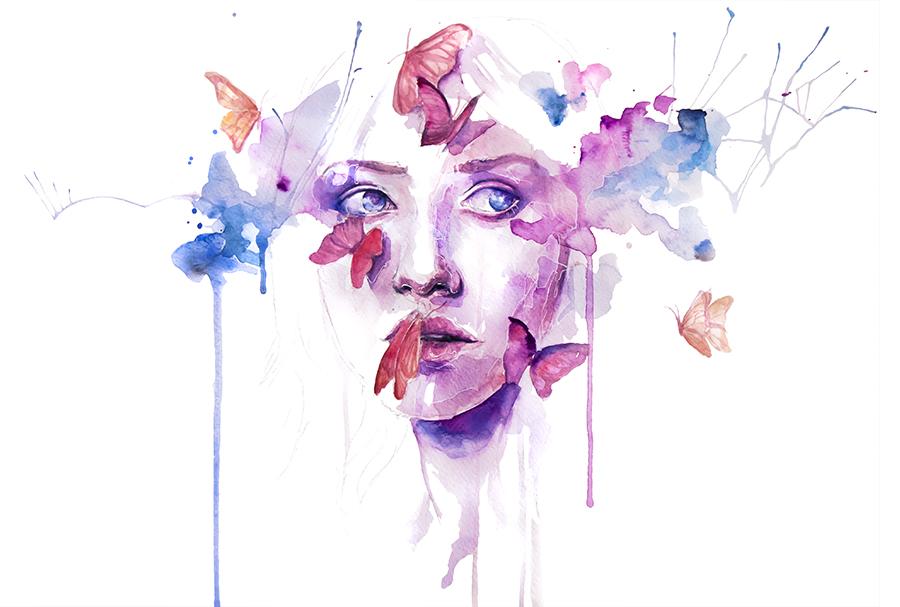 watercolor artwork 1