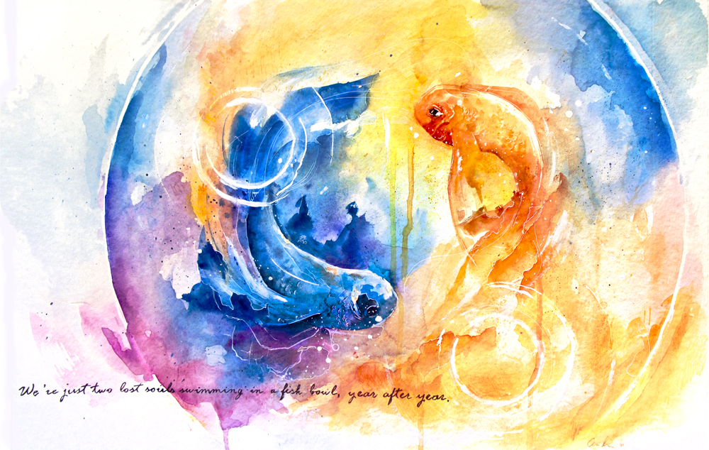 Goldfish Art