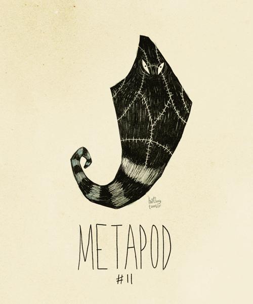 Metapod - Pokemon Fan Art