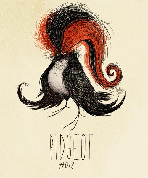 Pidgeot - Pokemon Fan Art