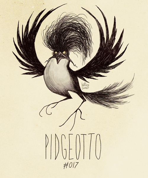 Pidgeotto - Pokemon Fan Art