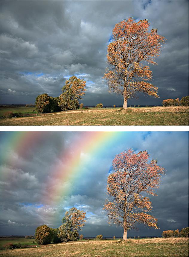 rainbow tutorial