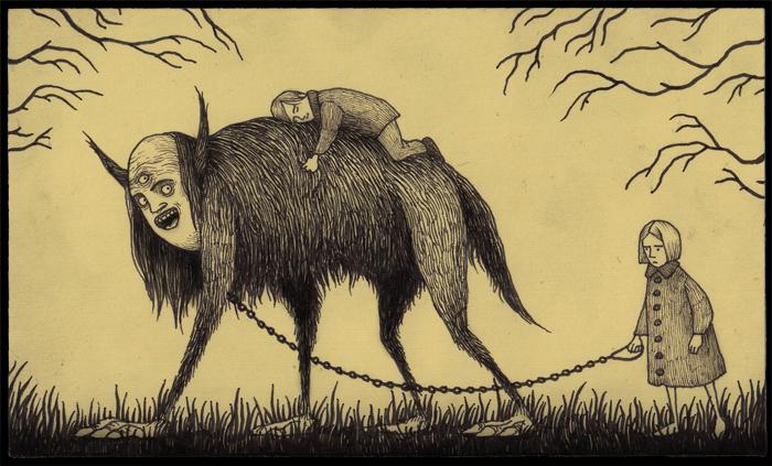 freaky illustration