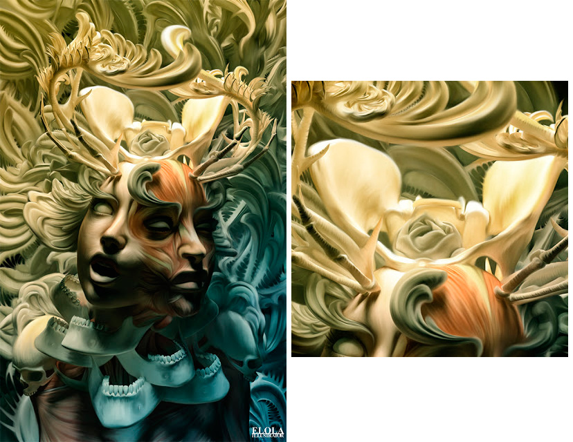 digital illustrations