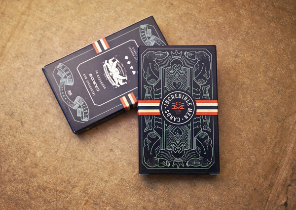 illustrated playing cards