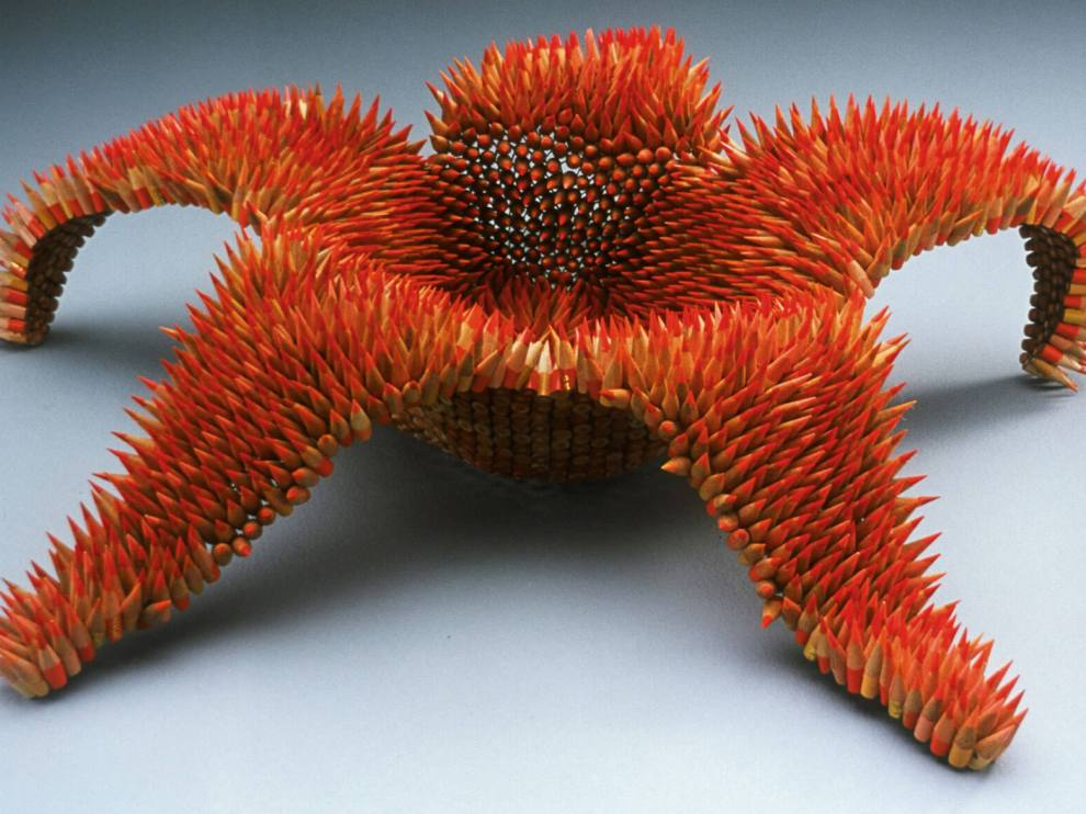 pencil sculpture 1
