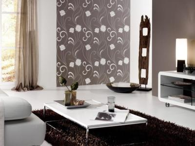 Wallpaper Design For Living Room that Can Liven Up The Room - InspirationSeek.com