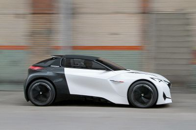 Peugeot Fractal, Futuristic Electric Car Concept - InspirationSeek.com