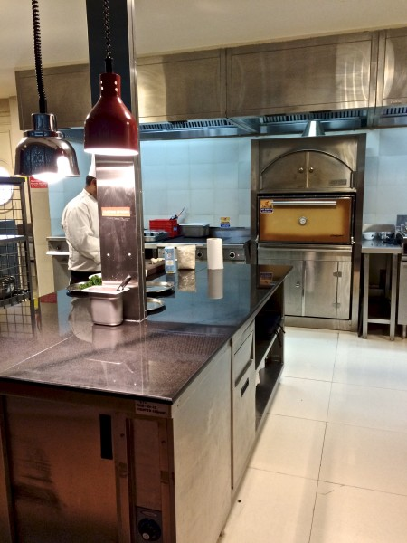 Behind the scenes - the restaurant's kitchen for Cuisine Classica