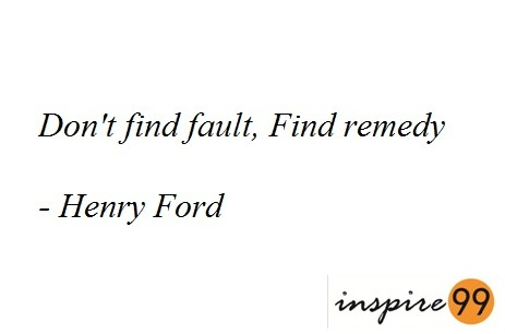 finding fault, judgements are easy, taking a fall for someones fault, quote analysis