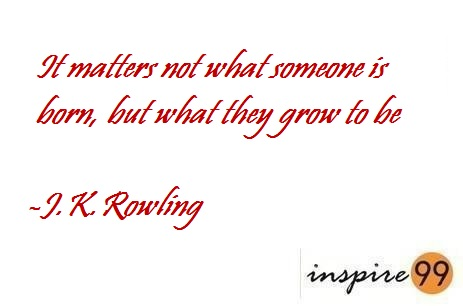 we'll always have reasons, what we want is more important, dreams are bigger than you, J.K.Rowling quotes