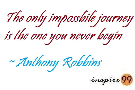 quote analysis, impossible journey, facing impossible situations, anthony robbins quotes,