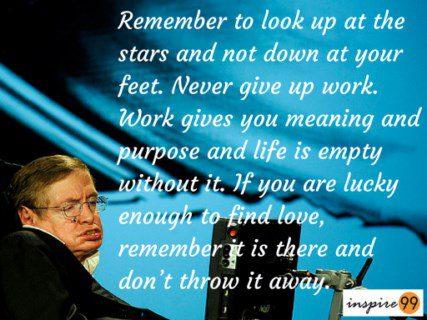 Stephen Hawking stars, Stephen Hawking inspiration, Stephen Hawking motivation